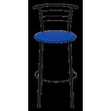 Стул барный Примтекс Плюс 1011 Hoker black S-5132, синий