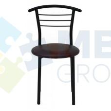Стул Примтекс Плюс 1011 black S-61, коричневый