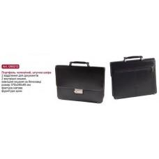 Портфель мужской Cabinet, искусственная кожа, 370x280x95