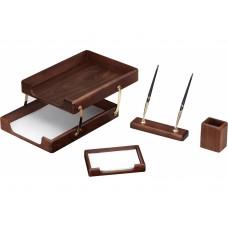 Набор настольный деревянный Cabinet из 4 предметов