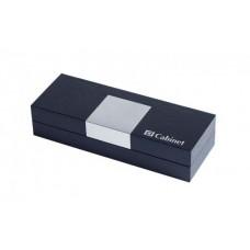 """Коробка подарочная для ручки """"Cabinet"""", синяя"""