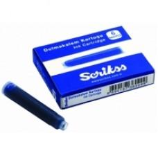 Набор картриджей чернильных Scrikss, синий
