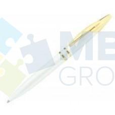 Ручка шариковая Optima Arrow, корпус белый