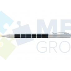 Ручка шариковая автоматическая Optima в подарочной коробке, корпус черный