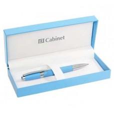 Ручка шариковая Cabinet Horizon, корпус синий