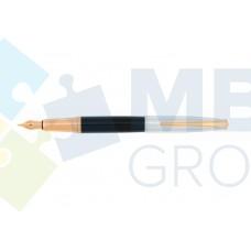 Ручка перьевая Cabinet Miracle, корпус черный с хромом