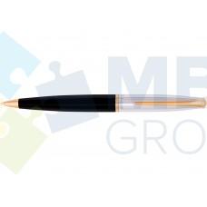 Набор: ручка шариковая и перьевая Cabinet Miracle, корпус черный с хромом