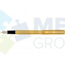 Ручка перьевая Cabinet Siena, корпус золотистый
