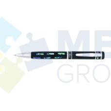Набор: ручка шариковая и перьевая Cabinet Pearl, корпус черный