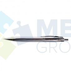 Ручка шариковая автоматическая Economix, корпус металл, в подарочной коробке