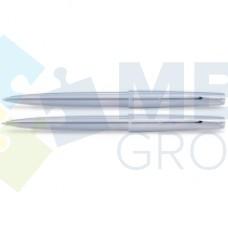 Набор: ручка шариковая и карандаш механический Scrikss Metropolis 78, корпус сталь