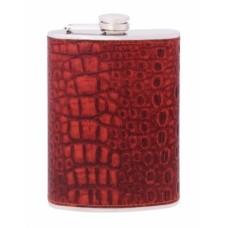 Фляга из нержавеющей стали Cabinet, 240 мл, красная