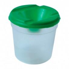 Стакан-непроливайка одинарный Economix, пластиковый, с широким отверстием