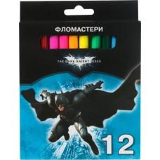 """Фломастеры Cool for school """"Batman"""", 12 цветов"""