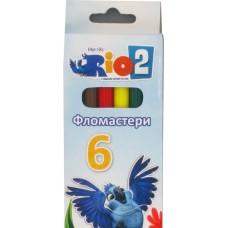 "Фломастеры Cool for school ""Rio"", 6 цветов"