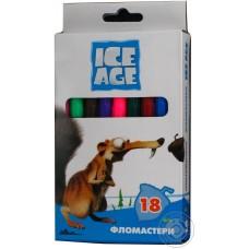 "Фломастеры Cool for school ""Ice Age"", 18 цветов"
