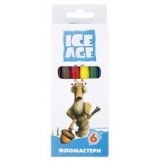 "Фломастеры Cool for school ""Ice Age"", 6 цветов"