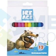 "Фломастеры Cool for school ""Ice Age"", 12 цветов"