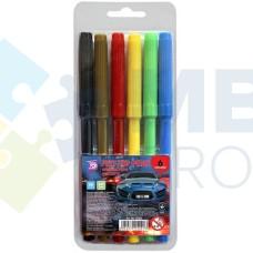 Фломастеры Cool for school Racing, 6 цветов