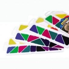 """Краски акварельные медовые Economix """"Africa"""", 8 цветов, без кисточки, пластик"""