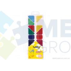 """Акварель медовая Cool for school """"Tweety"""", 18 цветов, без кисточки, пластик"""