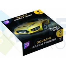Краски гуашевые Cool for school Racing League, 9 цветов