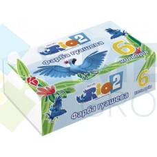 """Краски гуашевые Cool for school """"Rio"""", 6 цветов"""
