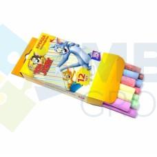 """Мел цветной Cool for school """"Tom & Jerry"""", 12шт."""