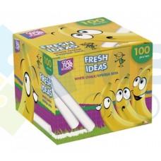 "Мел школьный белый Cool for school ""Fresh Ideas"", 100 шт."