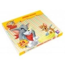 "Мел цветной масляний Cool for school ""Tom & Jerry"" 24 шт."