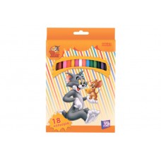 "Карандаши цветные Cool for school ""Tom and Jerry"", 18 цветов"