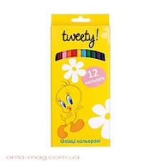 """Карандаши цветные Cool for school """"Tweety"""", 12 цветов"""