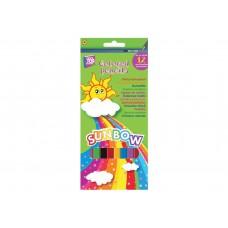 """Карандаши цветные Cool for school """"Sunbow"""", 12 цветов"""