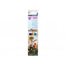 Карандаши цветные пластиковые Cool for school, 6 цветов