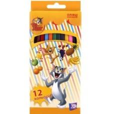 "Карандаши цветные Cool for school ""Tom and Jerry"", 12 цветов"
