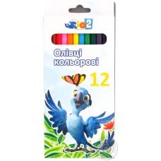 """Карандаши цветные Cool for school """"Rio"""", 12 цветов"""