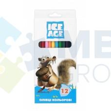 "Карандаши цветные Cool for school ""Ice Age"", 12 цветов"