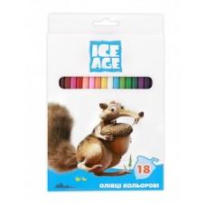 "Карандаши цветные Cool for school ""Ice Age"", 18 цветов"