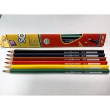 """Карандаши цветные Cool for school """"Extra Soft"""", треугольные, 6 цветов"""