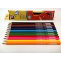 """Карандаши цветные Cool for school """"Extra Soft"""", треугольные, 12 цветов"""