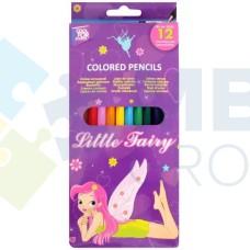 """Карандаши цветные Cool for school """"Fairy"""", 12 цветов"""
