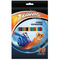 """Карандаши цветные Cool for school """"Turbo"""", 18 цветов"""