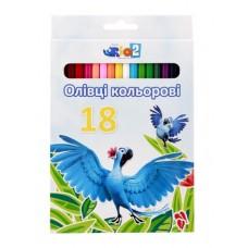 """Карандаши цветные Cool for school """"Rio"""", 18 цветов"""