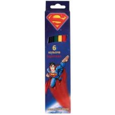 """Карандаши цветные Cool for school """"Superman"""", 6 цветов"""