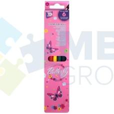"""Карандаши цветные Cool for school """"Fairy"""", 6 цветов"""