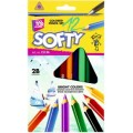 "Карандаши цветные Cool for school ""Jumbo Softy"" 12 цветов"