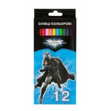 """Карандаши цветные Cool for school """"Batman"""", 12 цветов"""