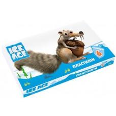 """Пластилин Cool for school """"Ice Age"""", 6 цветов, 120 г, картон"""