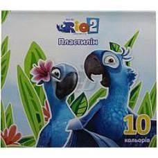 "Пластилин Cool for school ""Rio"", 10 цветов, 200 г, картон"
