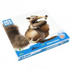 "Пластилин Cool for school ""Ice Age"", 12 цветов, 240 г, картон"